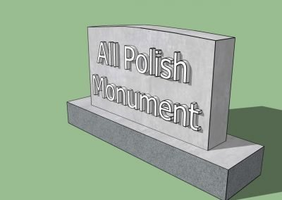 All Polish Monument