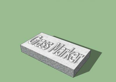 Grass Marker